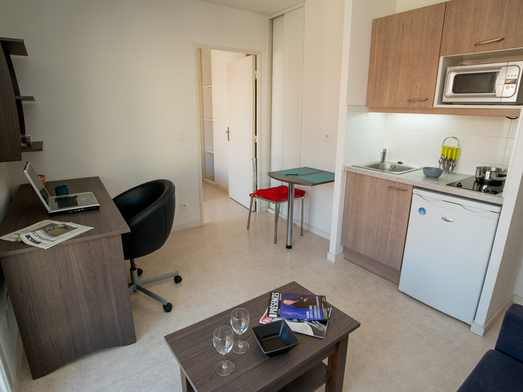 Furnished one-bedroom apartment Privilodges Coeur de Ville